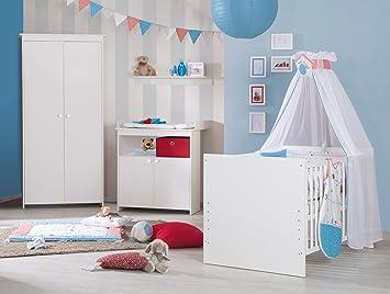 Roba Komplett Kinderzimmer Emilia Babyzimmer Set Weiss Inkl Baby