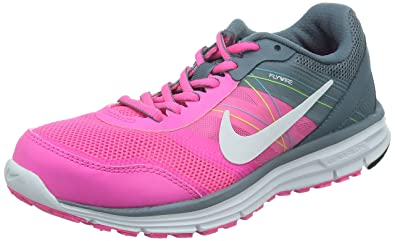 super popular 1602a 7425e Nike Womens Lunar Forever 4 MSL Running Shoes - PinkGreyWhite, Size