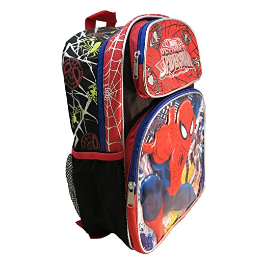 Amazon.com : Ruz Marvel Ultimate Spider-Man Small Backpack Bag : Sports & Outdoors