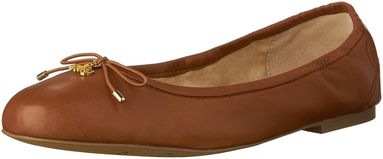 Sam Edelman Women's Felicia Ballet Flat B01MYMUQQ6 7 N US Saddle Leather