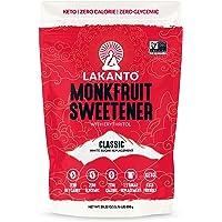 Lakanto Monkfruit edulcorante 1:1 sustituto del azúcar, Keto, sin OMG 28.22 Ounce (Pack of 1)