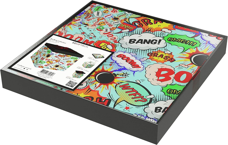 tooloflife 10 x 10 x 10 CM Bo/îte /à Bonbons Transparente PVC Bo/îtes demballage Cadeau en Plastique Faveur de Mariage 10Pcs