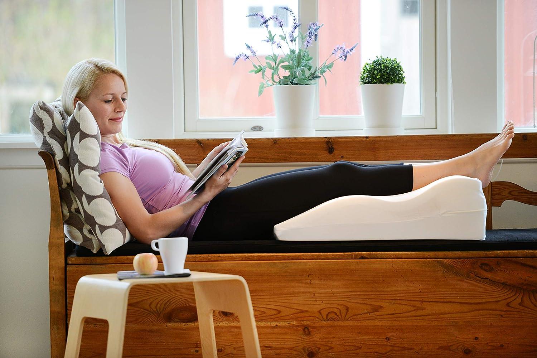 Sissel Venosoft - Almohada en cuña para las piernas, color blanco 5500VS 140.001_Bianco