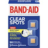 Band-Aid Brand Adhesive Bandages, Comfort-Flex Clear Spots, All One Size, 50 Count, (Pack of 6)