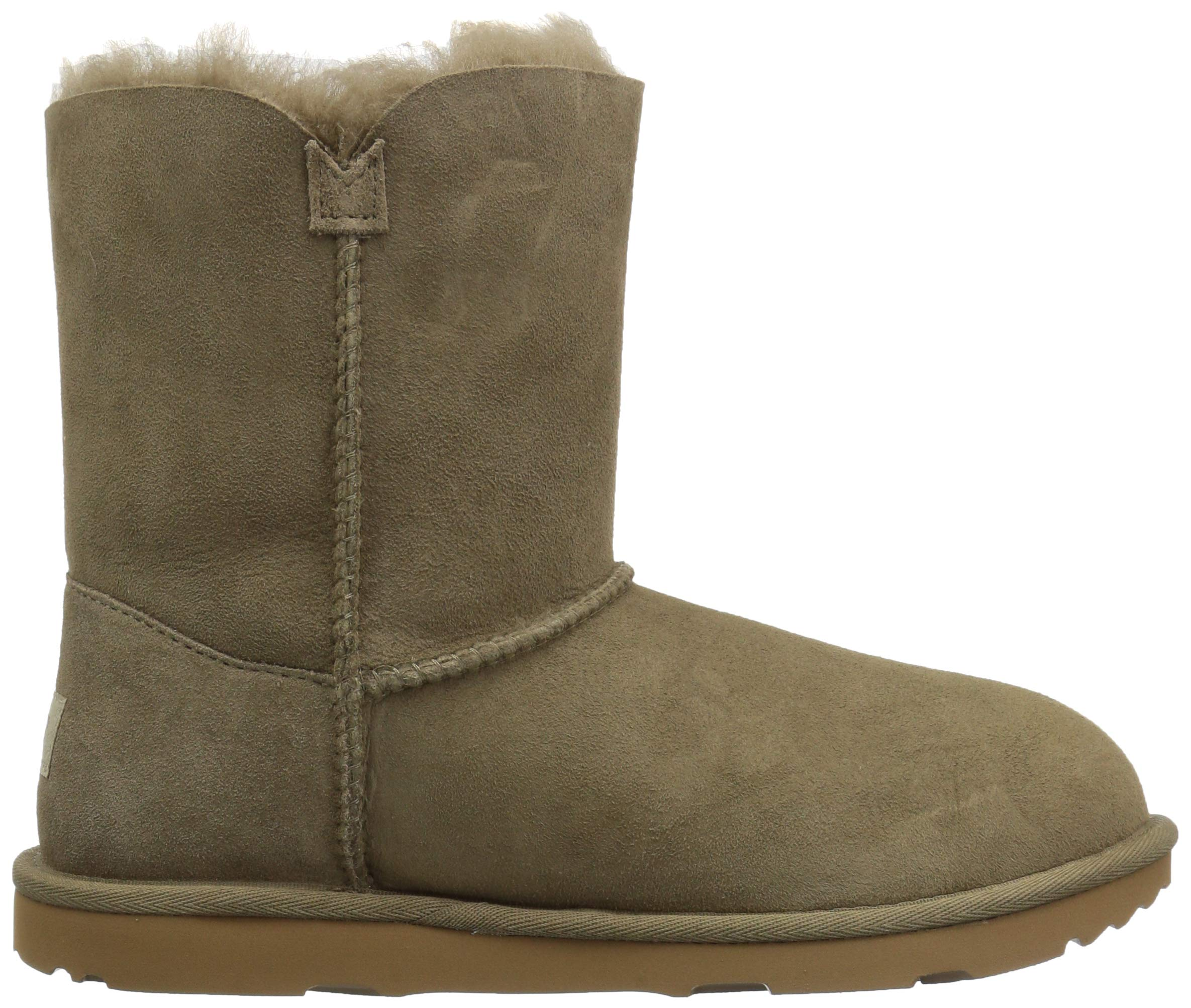 UGG Unisex K Bailey Button II Fashion Boot, Antilope, 13 M US Little Kid by UGG (Image #7)
