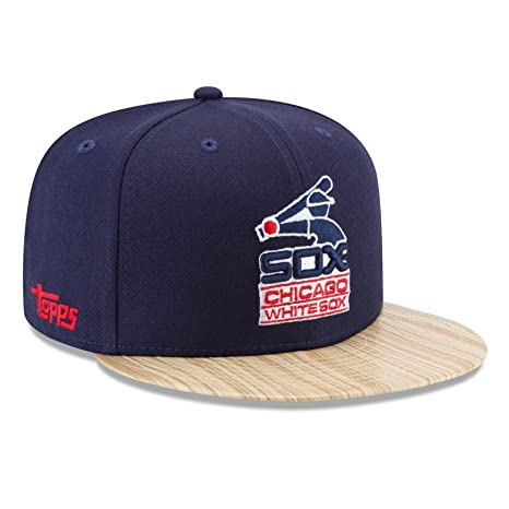 more photos 6a21d 26aae Image Unavailable. Image not available for. Color  New Era Chicago White  Sox 9FIFTY MLB Cooperstown 1987 Topps Snapback Hat