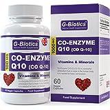 G-Biotics Coenzima Q10 100 mg (Co Q-10) ~ ALTISSIMA QUALITÀ