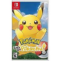 Nintendo Switch Pokemon Let's Go for Pikachu! by Nintendo (Region Free)