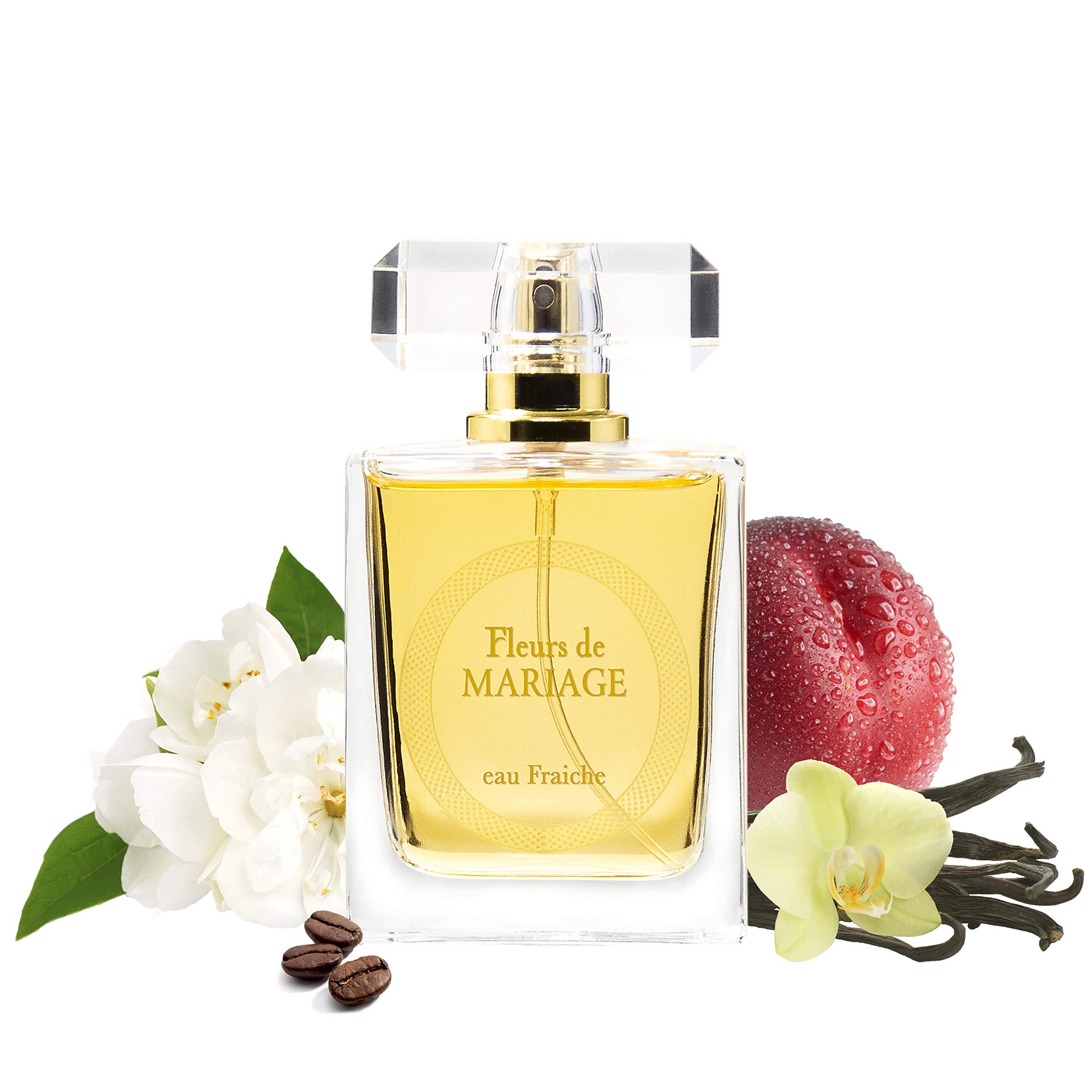 Fleurs de MARIAGE Eau Fraiche/Fresh Fragrant Water Spray for Women, 50 ml - Light Fragrance for Her, Good Gift Idea by SERGIO NERO