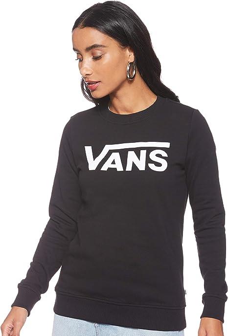 Vans Flying V Classic Crew - Felpa da donna, taglia L, colore: Nero:  Amazon.it: Abbigliamento