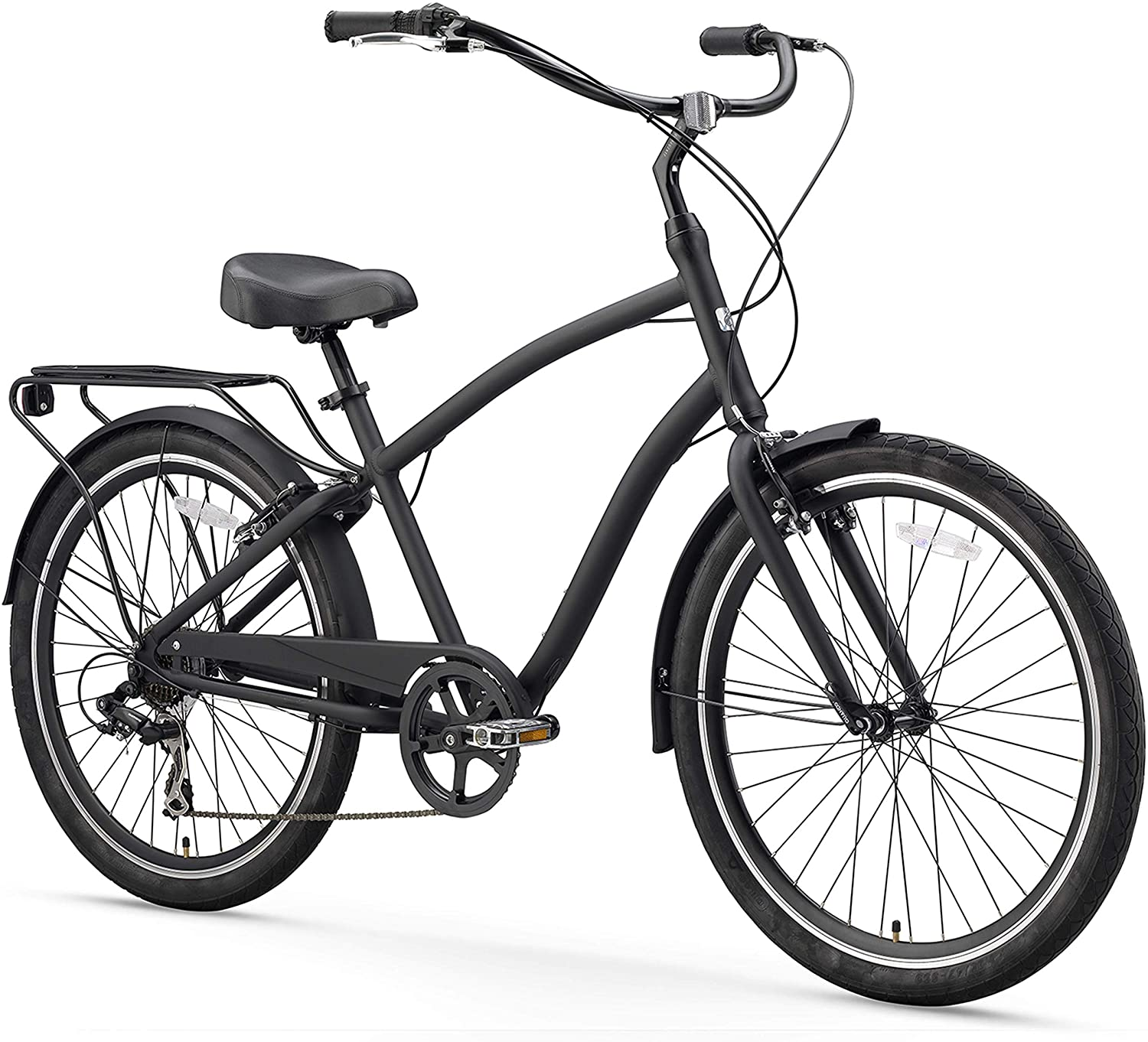 sixthreezero EVRYjourney Men s Hybrid Alloy Cruiser Bicycle and eBike