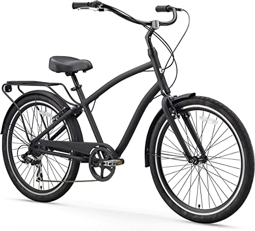sixthreezero EVRYjourney Men s Single Speed Hybrid Cruiser Bicycle