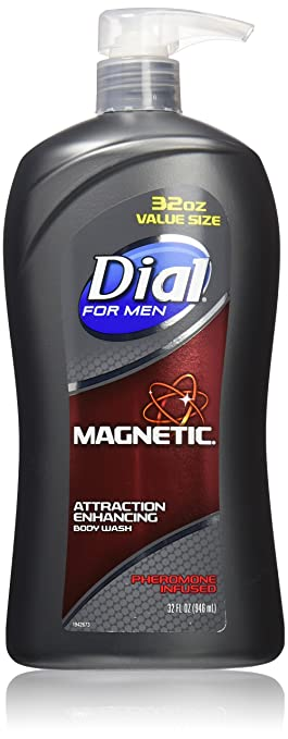 Dial for Men Attraction Enhancing Body Wash, Magnetic, 32 Ounce