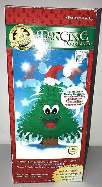 Amazon Com Original Douglas Fir The Talking Tree Talks Sings And Dances Large 18 Home Kitchen Cartoon christmas tree with xmas elements vector 10. original douglas fir the talking tree talks sings and dances large 18