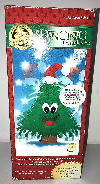 Singing Christmas Tree 2019.Original Douglas Fir The Talking Tree Talks Sings And Dances Large 18