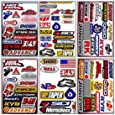 Graphic Racing Sticker Decal Motocross ATV Dirt 6 Sheets R601-4