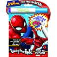 Disney Marvel Spider-Man 24-Page Imagine Ink Magic Ink Coloring Book with 1 Mess Free Marker, 40923 Bendon