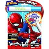(Spider-Man) - Bendon Spider-Man Imagine Ink Magic Ink Pictures, 24 Pages (40923)