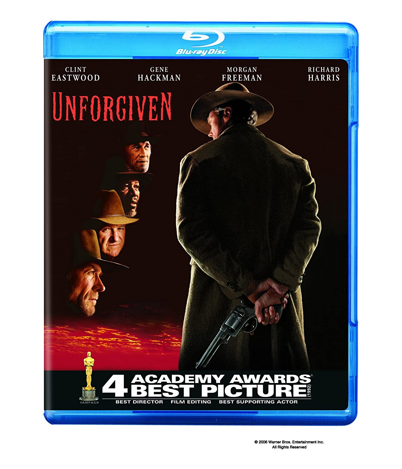 Unforgiven (1992) [Blu-ray] Clint Eastwood Gene Hackman Morgan Freeman Richard Harris (i)