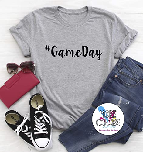 eed15fd2f1eb Amazon.com  Game Day T-Shirt Graphic Tees Football Season Baseball ...