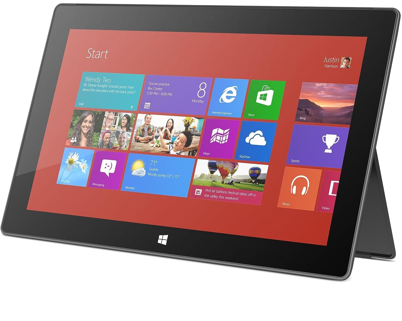 Microsoft Surface RT 64GB Black - Tablet (IEEE 802.11n, Windows, Pizarra, Windows RT, Negro, IEEE 802.11a, IEEE 802.11b, IEEE 802.11g, IEEE 802.11n): ...