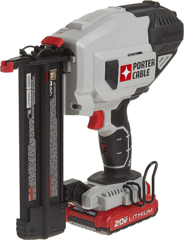 Porter-Cable 20V MAX Cordless Brad Nailer Kit