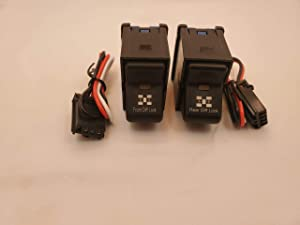 GCD Jeep TJ Rocker Switch Pair- Front Locker - Rear Locker Switches 1997-2006