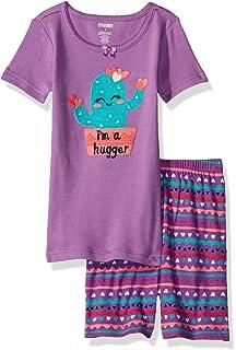 gymboree girls short cotton pajamas 2 piece set