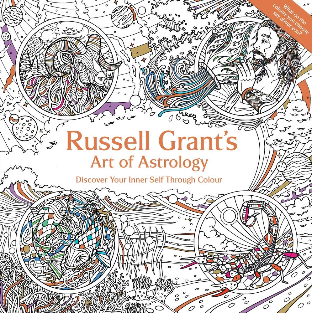 Russell Grant's Art of Astrology (Colouring Book): Amazon co