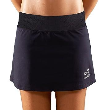 Endless Minimal Falda de Tenis, Mujer, Negro, L: Amazon.es: Deportes y aire libre