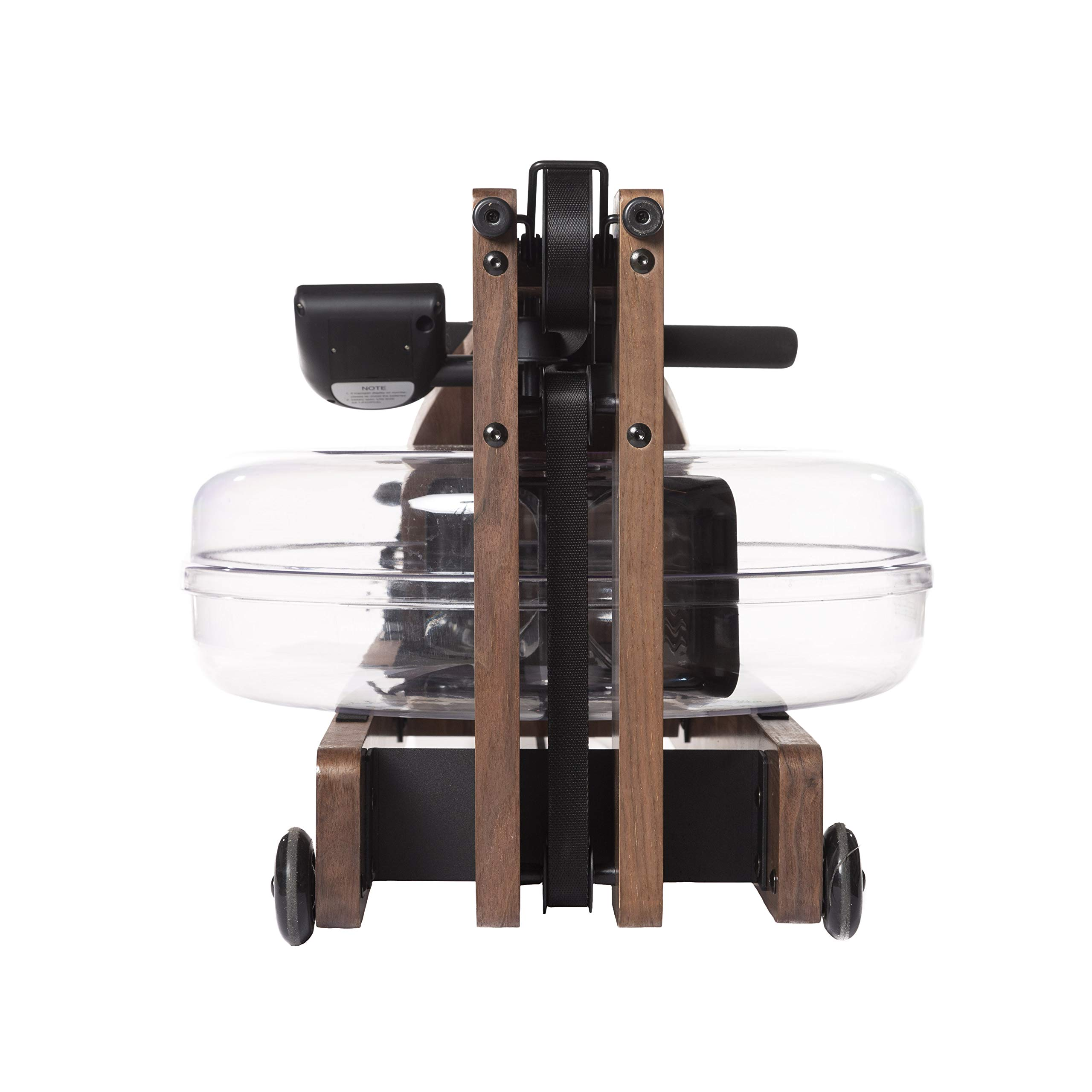 Incline Fit Wood Water Rowing Machine with Monitor, Walnut by Incline Fit (Image #5)