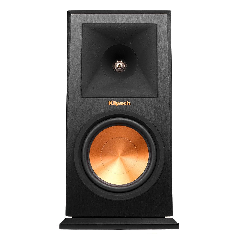 Amazon com klipsch rp 150m bookshelf speaker cherry pair home audio theater