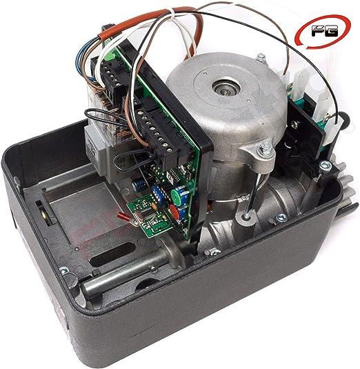 Kit motor puerta corredera VDS GEKO 400 Kg para automatizar cancela o puerta de garaje corredera de uso residencial con dos mandos Rolling code 433 Mhz.: Amazon.es: Bricolaje y herramientas