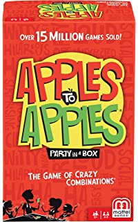 The Game of Crazy Combinations Mattel Apples to Apples Junior 9 R