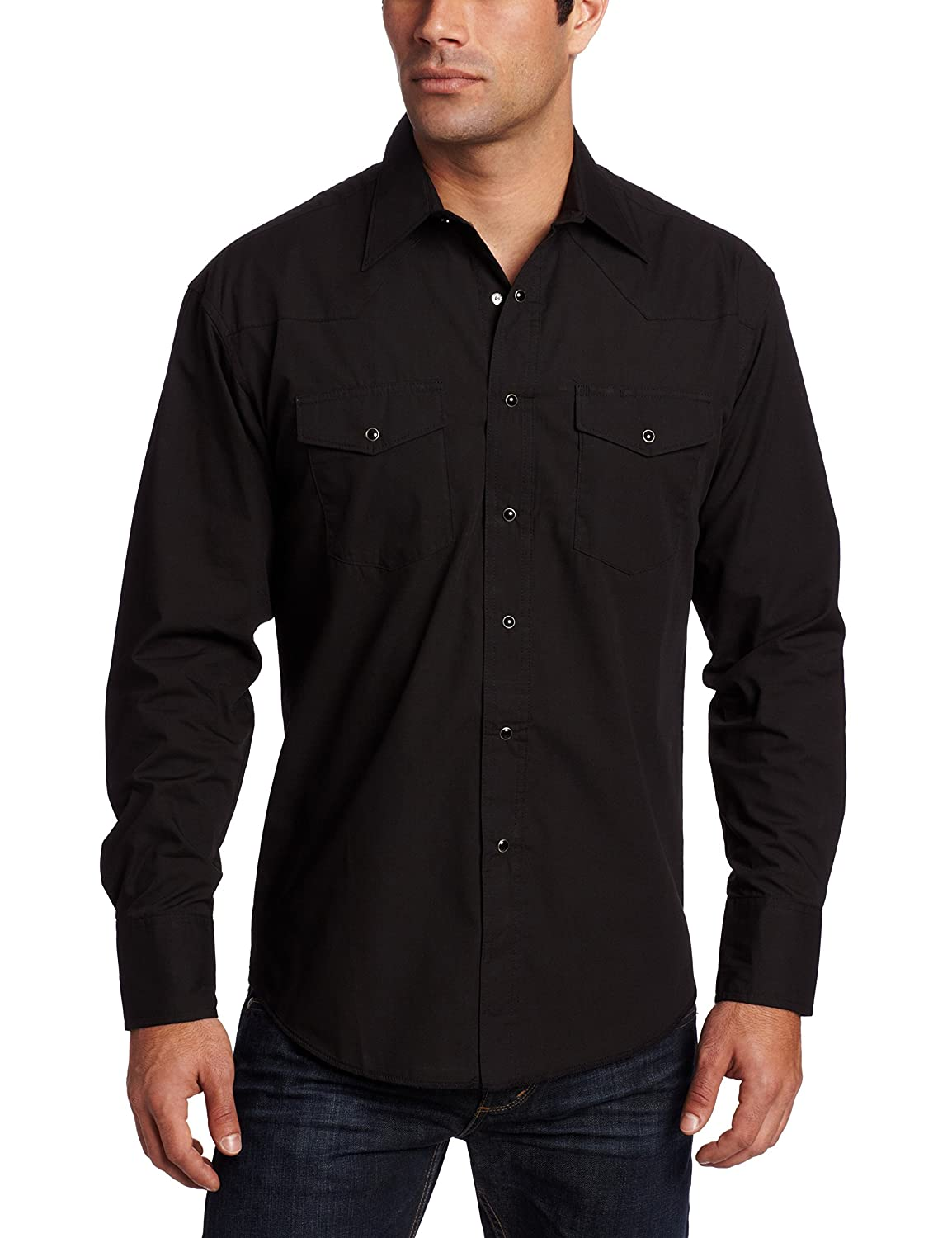 Mens Black Long Sleeve Shirt Artee Shirt