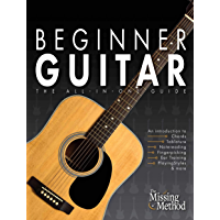 Beginner Guitar: The All-in-One Guide (Book & Online Video Course) book cover