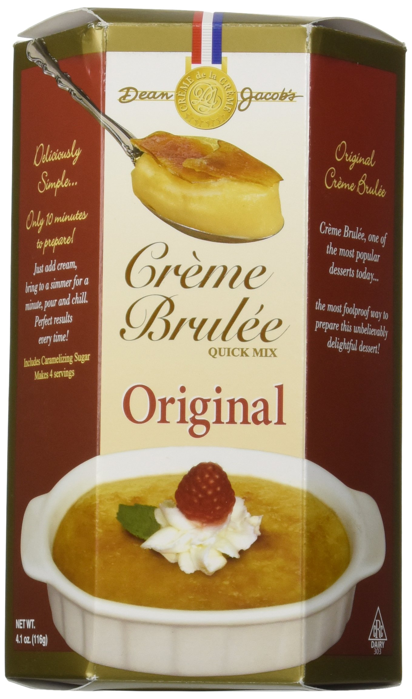 Amazon.com : Dean Jacob\'s Creme Brulee Quick Mix : Cooking And ...