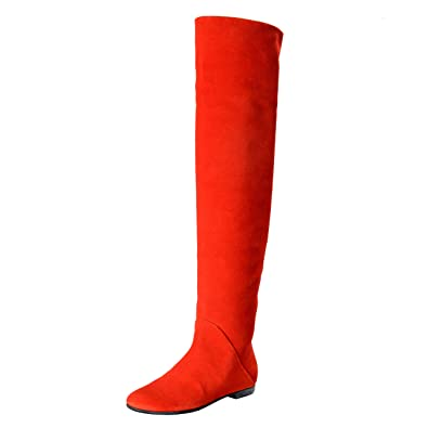 Image Unavailable. Image not available for. Color  Giuseppe Zanotti Design  Women s Red Suede Leather Boots ... cb1fcd75d8