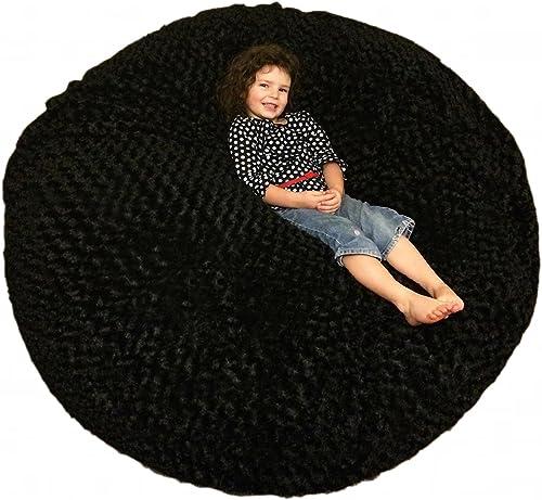 Reviewed: SLACKER sack 5-Feet Luxurious Fur Beanbag Chair