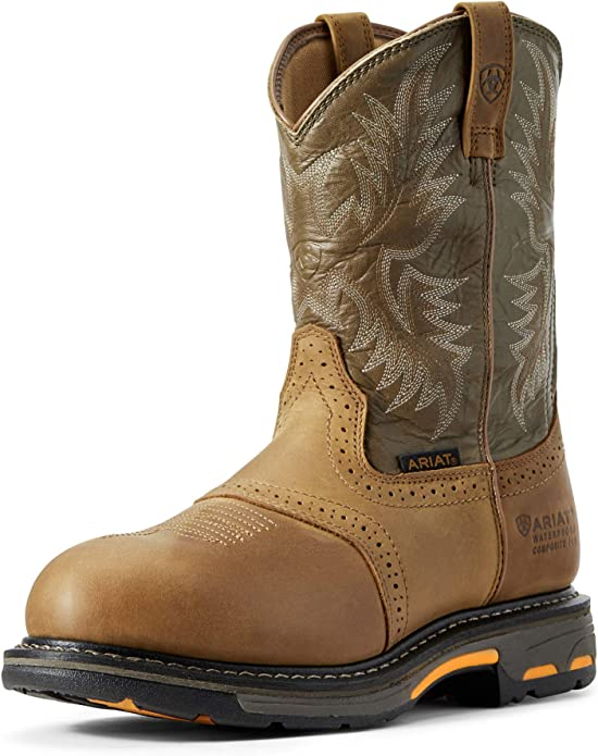 Ariat Men's Workhog Pull-on H2O Work Boots