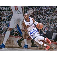"$62 » Chris Paul LA Clippers Autographed 8"" x 10"" Dribbling Around Pick Photograph - Fanatics Authentic Certified"
