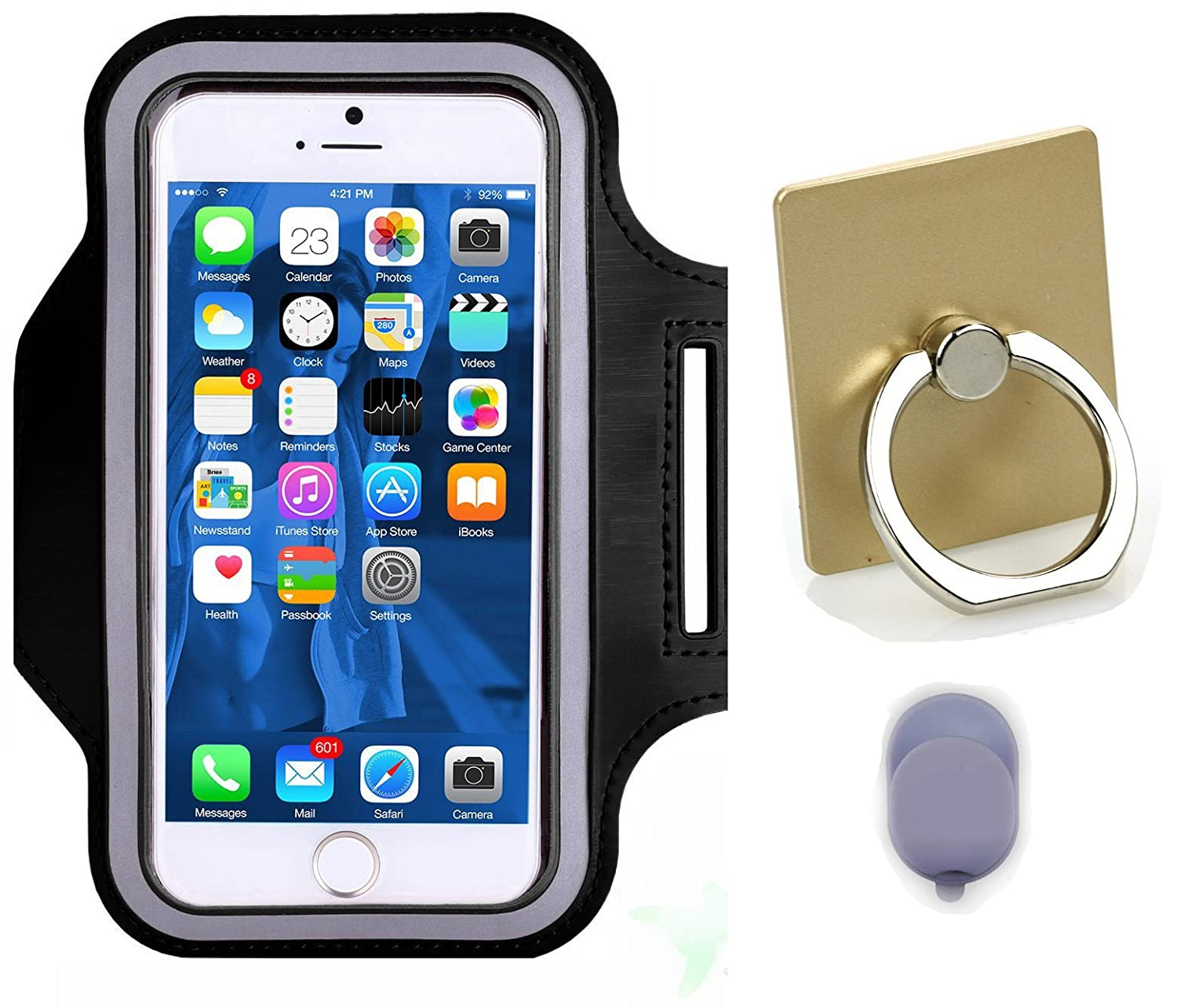 promo code 0fe30 d5373 Amazon.com: K-Martins Sports Running Armband Fitness Cell Phone Case ...