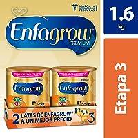 Enfagrow Premium,  Etapa 3, Leche de Crecimiento para niños mayores de 12 Meses, 2 Latas de 800gr c/u