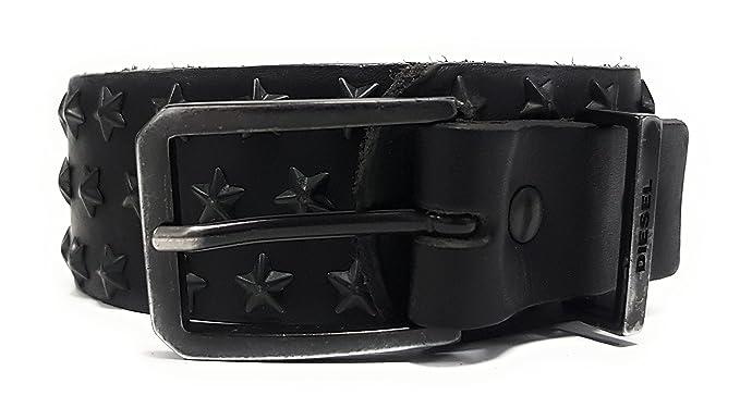 2e4be9b3e9d7f Diesel - Ceinture - Femme noir noir 70 cm: Amazon.fr: Vêtements et ...