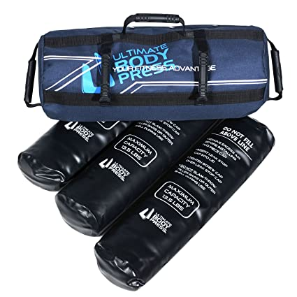 830c563d28 Ultimate Body Press Exercise Sandbag with 3 Water Filler Bags