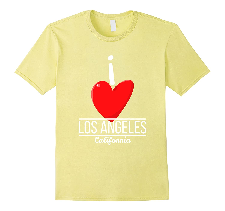 Love LA Los Angeles City California USA Souvenir Travel Tee-Vaci