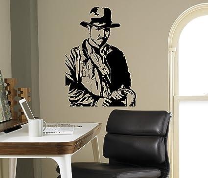 Indiana Jones Wall Decal Movie Character Vinyl Wall Sticker Home ...