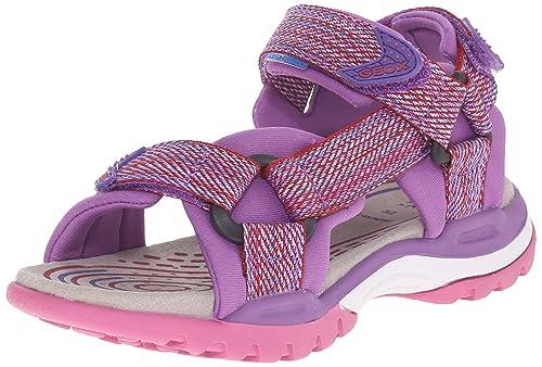 29dbd8ba1 Geox J Borealis Girl 1 Sandal (Toddler Little Kid Big Kid)  Amazon.ca   Shoes   Handbags