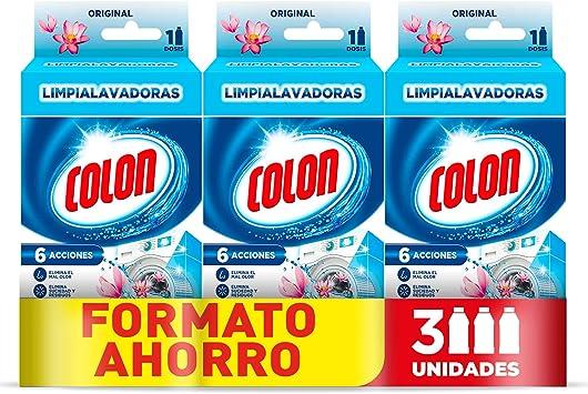 Colon Limpialavadoras - Limpiador lavadora y antiolor - megapack ...