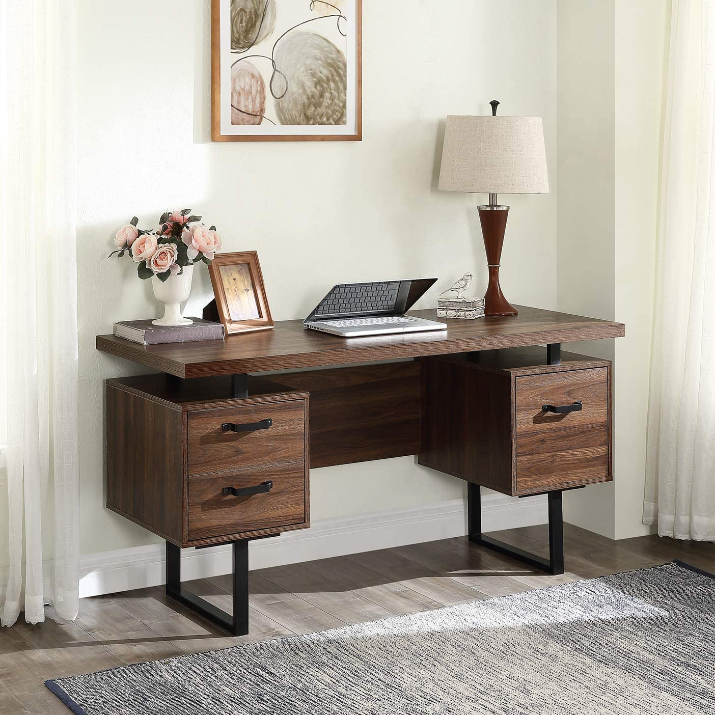 Binrrio Home Office Computer Desk